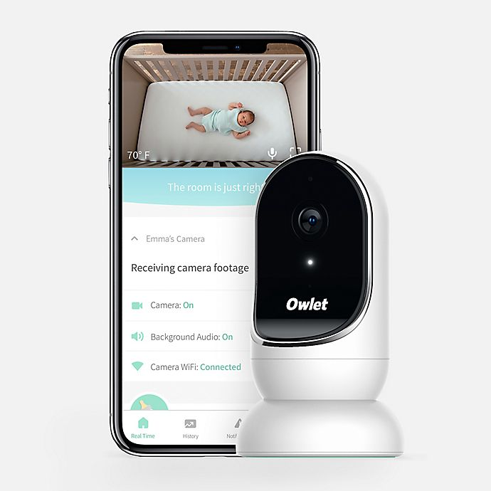 Alternate image 1 for Owlet Cam WiFi Video Baby Monitor