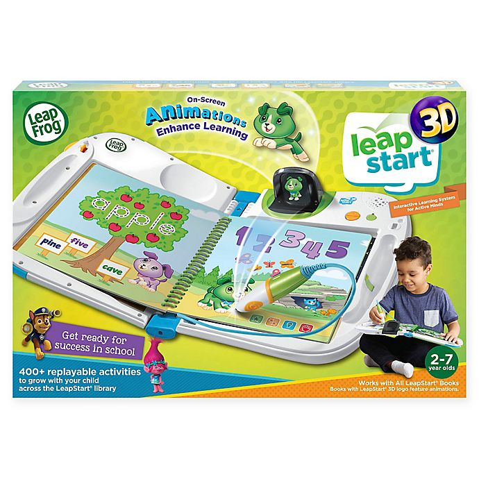 Alternate image 1 for Leap Frog® LeapStart 3D Interactive Learning System in Green