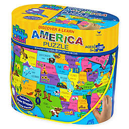 Stephen Joseph® 100-Piece USA Floor Puzzle