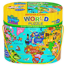 Stephen Joseph® 100-Piece World Floor Puzzle
