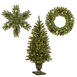 National Tree Company Dunhill Fir Holiday Collection