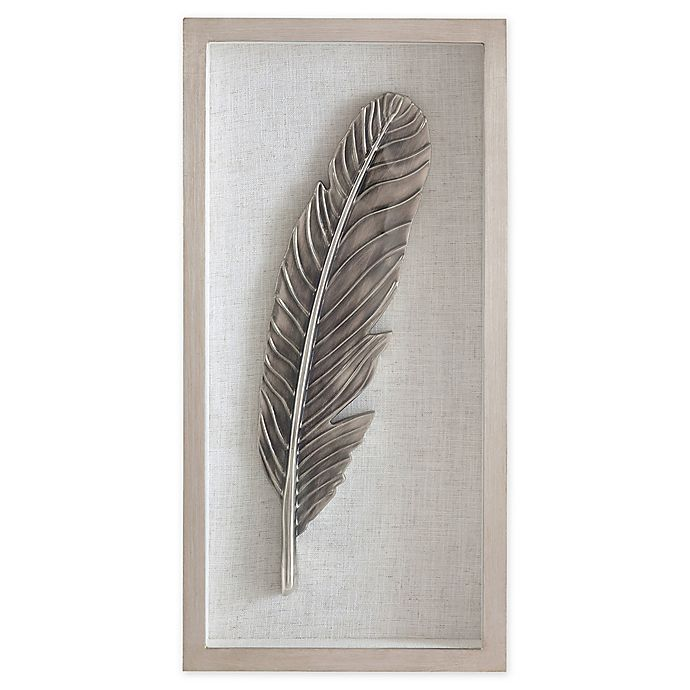Feather Shadow Box Frame Wall Art Bed Bath Beyond