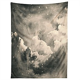 Deny Designs Caleb Troy Find Me Among The Stars Tapestry in Black