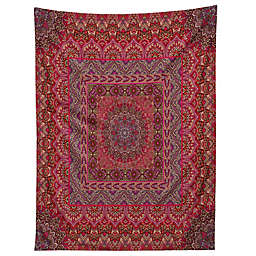 Deny Designs Aimee St Hill Farah Squared Red 60-Inch x 80-Inch Tapestry