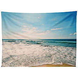 Deny Designs Take Me There 80-Inch x 60-Inch Tapestry in Blue