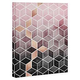 Deny Designs Cubes Canvas Wall Art