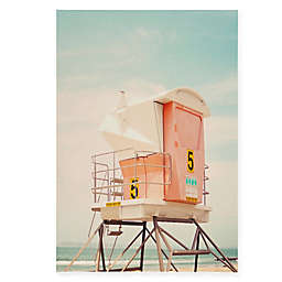 Deny Designs Bree Madden Beach Tower 8-Inch x 10-Inch Canvas Wall Art