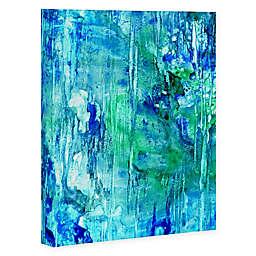 Deny Designs Blue Grotto 8-Inch x 10-Inch Canvas Wall Art
