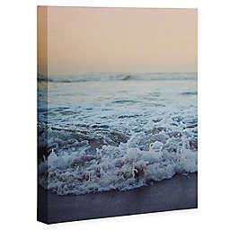 Deny Designs 8-Inch x 10-Inch Leah Flores Crash Into Me Canvas Wall Art