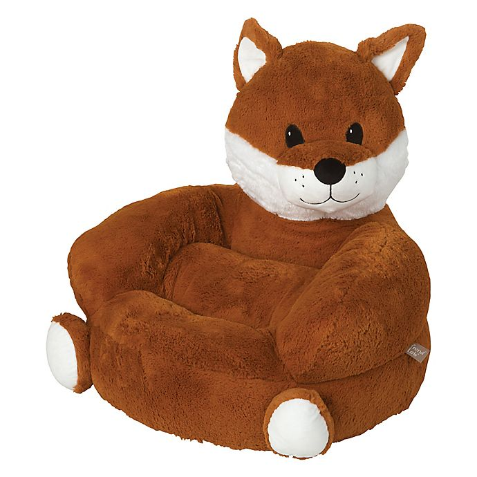 Alternate image 1 for Trend Lab® Fox Plush Character Chair in Orange