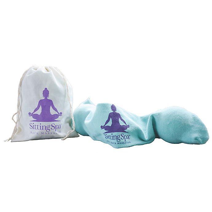 Alternate image 1 for SittingSpa Portable Back Massager in Teal