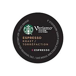 Starbucks® Verismo® 12-Count Espresso Roast Espresso Pods