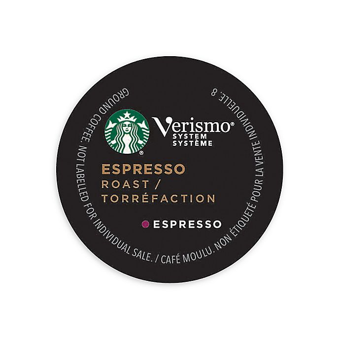 Alternate image 1 for Starbucks® Verismo™ 12-Count Espresso Roast Espresso Pods