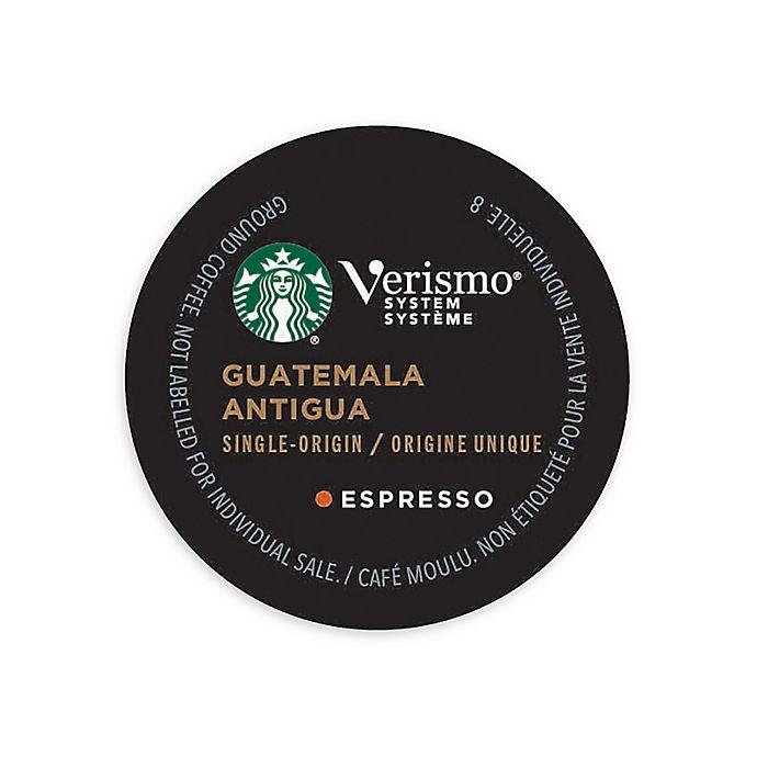 Alternate image 1 for Starbucks® Verismo™ 12-Count Guatemala Antigua Espresso Pods