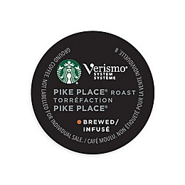 Starbucks® Verismo® 12-Count Pike's Place® Brewed Coffee Pods