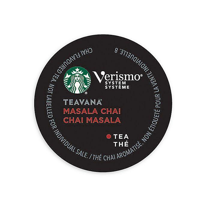 Alternate image 1 for Starbucks® Verismo™ 12-Count Teavana® Masala Chai Tea Pods
