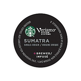 Starbucks® Verismo® 12-Count Sumatra Single Origin Brewed Coffee Pods