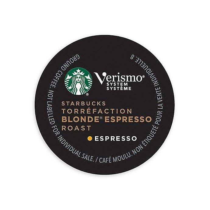 Starbucks Verismo 12 Count Blonde Espresso Roast Espresso