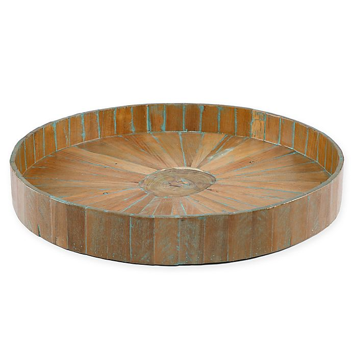Alternate image 1 for My Zen Home™ Kenchuto 26-Inch Round Tray in Natural