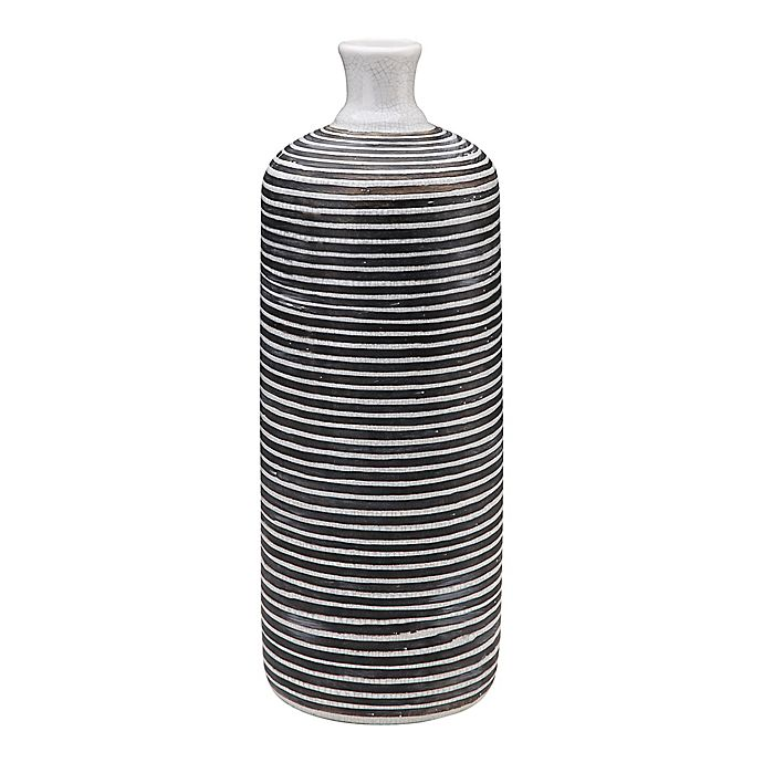 Alternate image 1 for Moe's Home Collection Carta Vase in Black/White