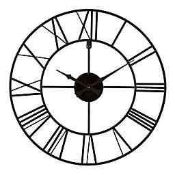 La Crosse Technology Metal Tower 20-Inch Wall Clock