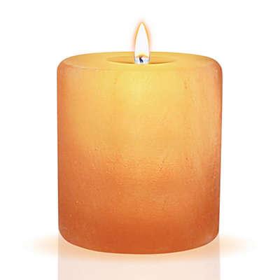 Himalayan Glow Salt Cylinder Candle Holder