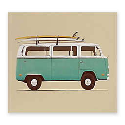 Deny Designs Florent Bodart Famous Cars IV 8-Inch x 10-Inch Canvas Wall Art