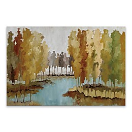 Lake View Multicolor Canvas Wall Art