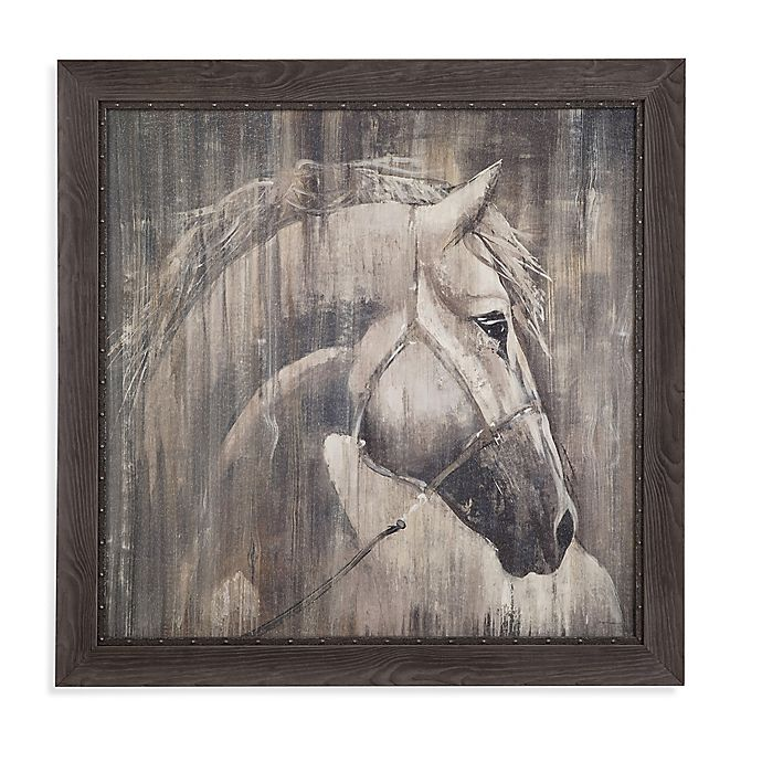 Alternate image 1 for His Majesty Framed Canvas Wall Art
