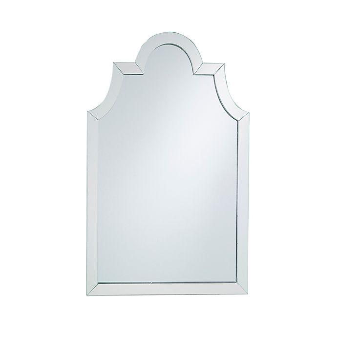 Alternate image 1 for Southern Enterprises Maven Decorative Wall Mirror in Silver