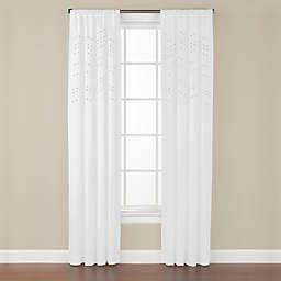 Madden Rod-Pocket Window Curtain Panel (Single)