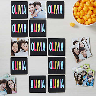 All Mine! Personalized Photo Memory Game