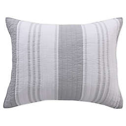 Levtex Home Freeport King Pillow Sham in Grey