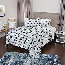 Rizzy Home Flint 3-Piece Quilt Set