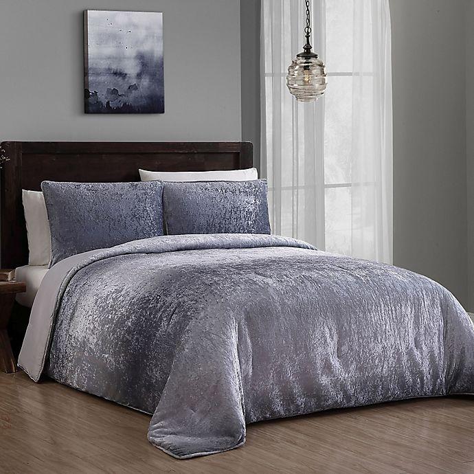 Addison Home Bradshaw Velvet Comforter Set Bed Bath Amp Beyond