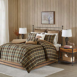 Hadley Plaid Comforter Collection