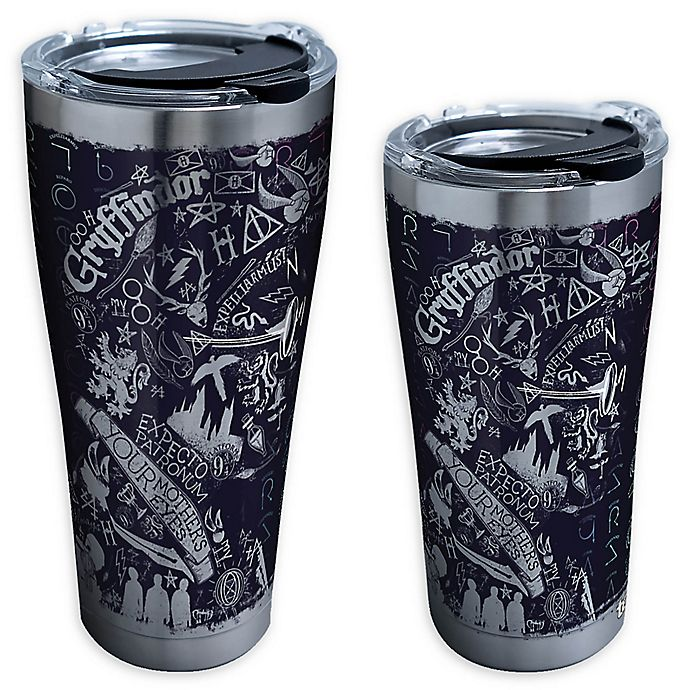 Alternate image 1 for Tervis® Harry Potter™ 20th Anniversary Stainless Steel Tumbler with Lid