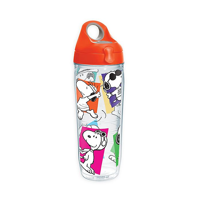 Alternate image 1 for Tervis® Peanuts Snoopy 24 oz. Wrap Water Bottle with Lid