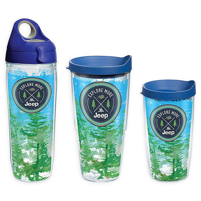 40ada92d970 Tervis® Jeep® Explore More Wrap Drinkware with Lid | Bed Bath & Beyond