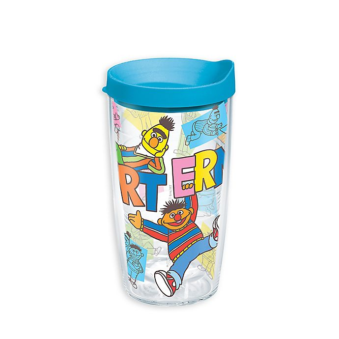 Alternate image 1 for Tervis® Sesame Street® Bert and Ernie 16 oz. Wrap Tumbler with Lid