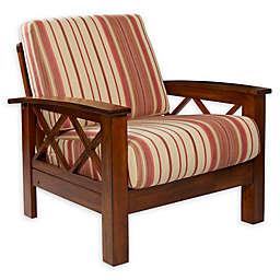 Handy Living® Wood Upholstered Riverwood Chair