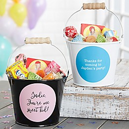 Write Your Own Expressions Personalized Mini Metal Bucket