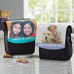 Personalized Photo Lunch Bag