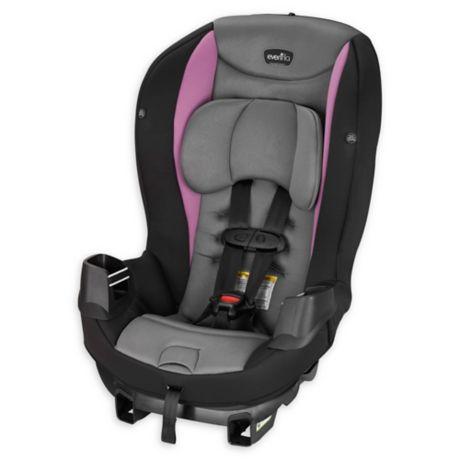 Strawberry Pink Evenflo Sonus Convertible Car Seat Baby ...