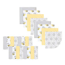 Luvable Friends Bee 24-Pack Washcloths in Yellow