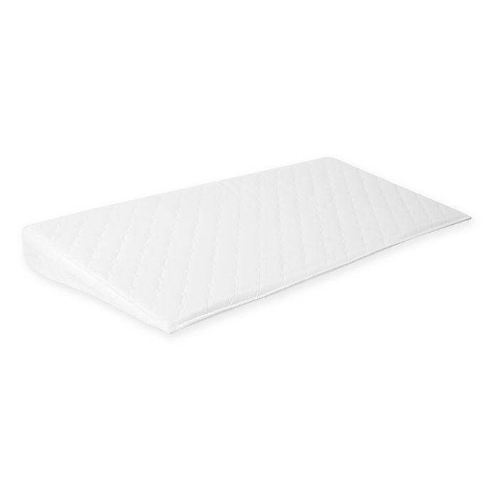 Alternate image 1 for Baby Delight® Comfy Rise Deluxe Crib Wedge in White