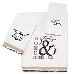Avanti Modern Farmhouse Bath Towel Collection
