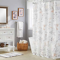 SKL Home Greenhouse Leaves Multicolor 70-Inch x 72-Inch Shower Curtain