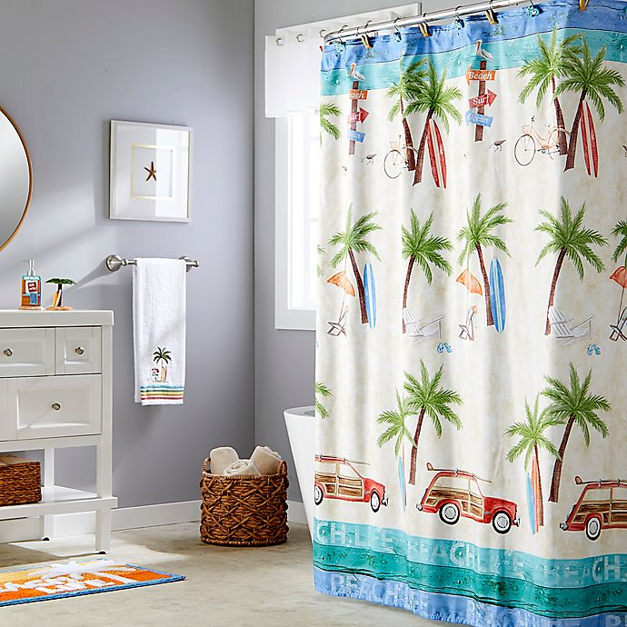 Alternate image 1 for Paradise Beach Shower Curtain