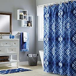 Saturday Knight Zarrie Multicolor Shower Curtain